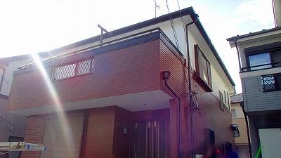 施工後の家の写真です