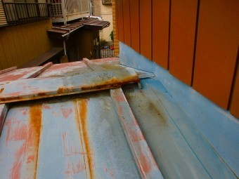 さいたま市北区トタン屋根塗装前
