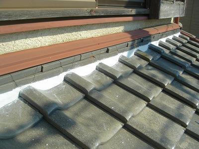 伊奈町で【大好評】の屋根漆喰補修を行いました。