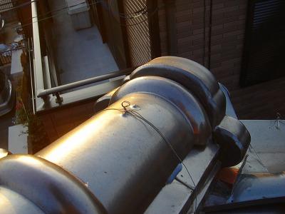蓮田市 屋根漆喰の補修