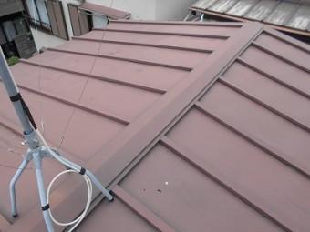診断させて頂いた屋根の写真