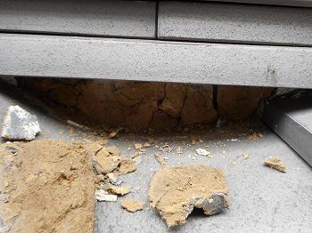川口市 屋根漆喰補修