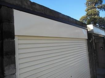 車庫のシャッター施工後