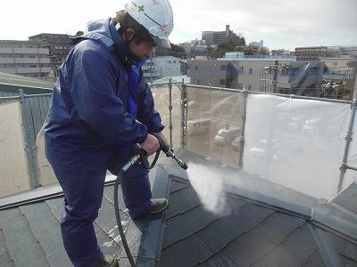 高圧洗浄 屋根 さいたま