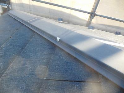 棟板金止め釘防水加工
