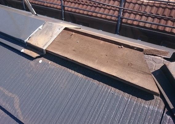 さいたま市見沼区 貫板の腐食