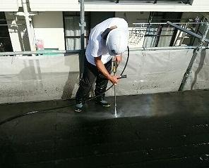 さいたま市 屋根高圧洗浄