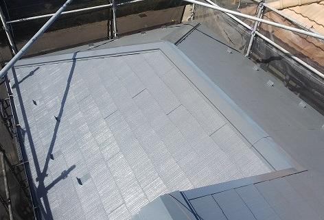 さいたま市見沼区 屋根塗装全体