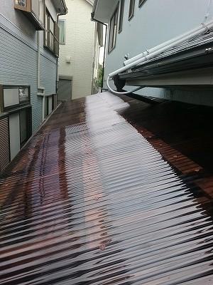 さいたま市緑区で屋根塗装と【波板交換】をしました。