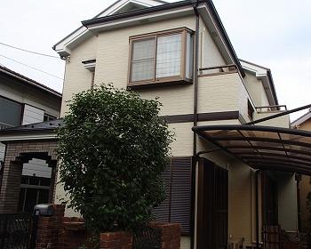 さいたま市浦和区で棟板金・屋根修繕と屋根塗装、外壁塗装