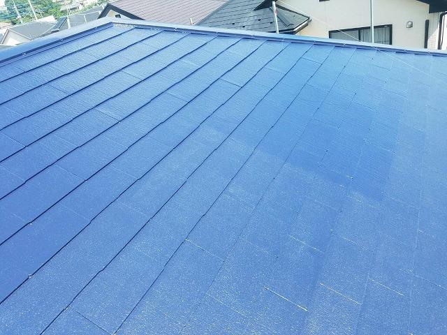 屋根の塗装下塗り