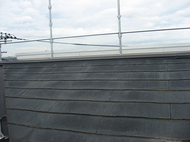 さいたま市 施工前屋根全景