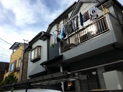 志木市で雨漏りで点検口作成しました