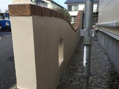門塀 塗装 埼玉県