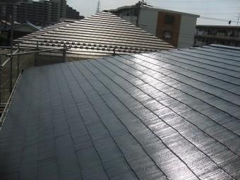 3度塗り 屋根