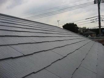 朝霞市スレート屋根