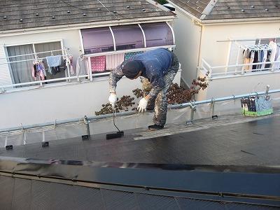 塗りまーす埼玉の屋根