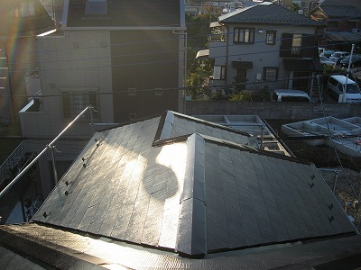 埼玉の塗装屋根は街屋根
