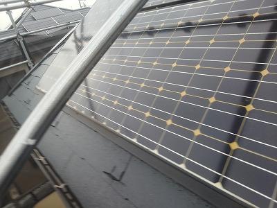 太陽光パネルのある屋根も塗装できます 埼玉