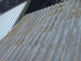 屋根の外壁塗装前