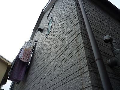 外壁の塗装を行う