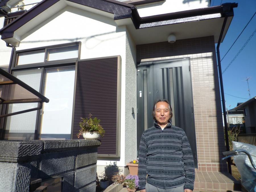 埼玉県北足立郡の屋根塗装・外壁塗装を行ったT様に頂いたお言葉