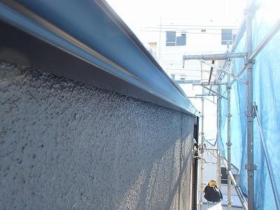 さいたま市中央区で【雨樋交換】と【屋根カバー工法】を行いました。