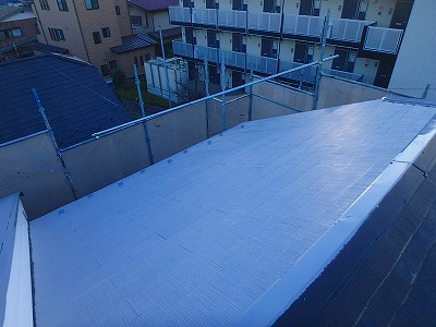 さいたま市浦和区 屋根下塗り