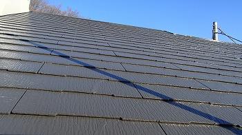 さいたま市桜区 屋根塗装 カーボングレー