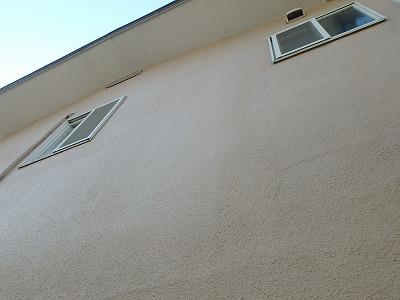長年塗装してない外壁