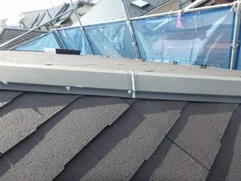 さいたま市北区 棟板金 屋根塗装