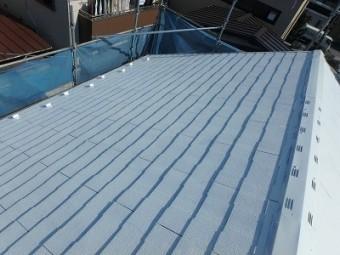 さいたま市 屋根塗装 下塗り