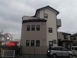 塗り替え前の一軒家の様子