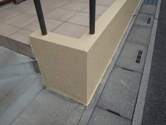 埼玉県さいたま市桜区 外壁塗装 擁壁屠蘇