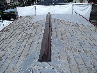 上尾市で屋根の葺き替え工事を行いました。