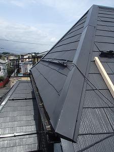 志木市 雨漏り 屋根カバー後