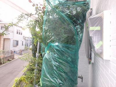 養生処理 埼玉県 塗装