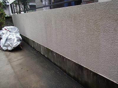 外塀 塗装