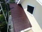屋根 上塗り 完成