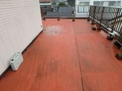 屋上防水 シート防水 剥がす