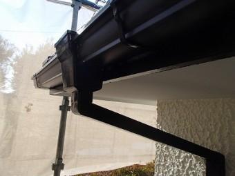 雨樋の交換完了
