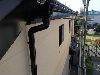 上尾市 外壁塗装 竪樋塗装