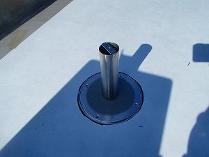 屋上防水 空気穴