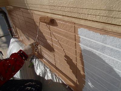 さいたま市岩槻区 外壁塗装 ボード表面