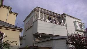 築20年で二回目の塗装の戸建塗装目の状態です