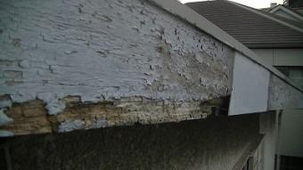 蕨市で付帯塗装 破風塗装