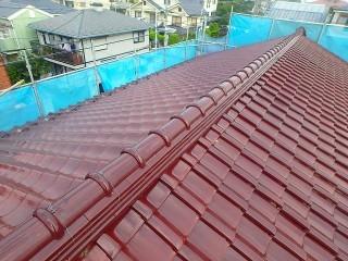 塗り替え後の屋根の様子