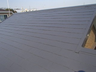 川口市 屋根塗装工事