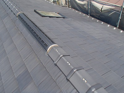 新座市  屋根葺き替え ジンカリウム鋼板
