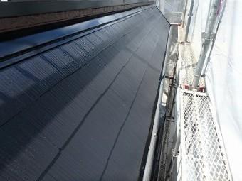 屋根 中塗り ケイセラチタンクール
